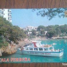 Postales: POSTAL DE CALA FERRERA, MALLORCA AÑOS 80. Lote 277680633
