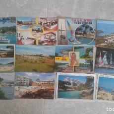 Postales: LOTE DE 12 POSTALES DE MALLORCA AÑOS 80. Lote 141229021