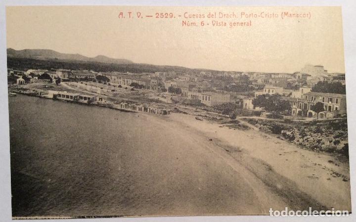 ATV - 2529. CUEVAS DEL DRACH. PORTO-CRISTO. (MANACOR). NUM.6 - VISTA GENERAL. (Postales - España - Baleares Antigua (hasta 1939))