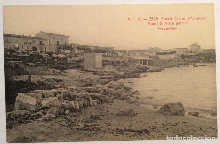 ATV - 2526. PUERTO CRISTO. (MANACOR). NUM.3 - VISTA PARCIAL. (Postales - España - Baleares Antigua (hasta 1939))