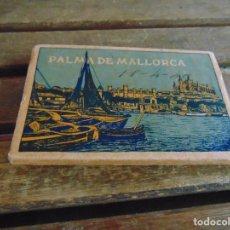 Postales: ACORDEON DE 17 POSTALES DE PALMA DE MALLORCA HUECOGRABADOS MUMBRU. Lote 67348505
