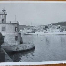 Cartes Postales: ANTIGUA FOTOGRAFÍA. PUERTO DE MALLORCA. FOTO AÑO 1952.. Lote 70367341