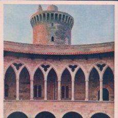 Postales: PALMA DE MALLORCA PATIO DEL CASTILLO DE BELLVER EDICIONES MIR. Lote 71403963