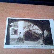 Postales: PATIO BARROCO MALLORQUIN - SIGLO XVIII - MALLORCA. Lote 71595799