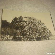 Postales: MAHON , MENORCA . TALAYOT TORELLO . FOTO HERNANDO . SIN CIRCULAR. Lote 71708903