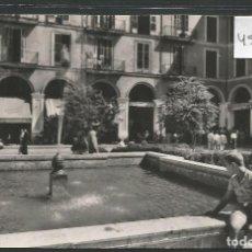 Postales: MALLORCA - PALMA -RINCON DE LA PLAZA MAYOR-CASA PLANAS - VER REVERSO - (45.890). Lote 71927843