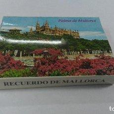 Postales: RECUERDO DE MALLORCA BLOC CON 22 VISTAS DE MALLORCA. Lote 72861251
