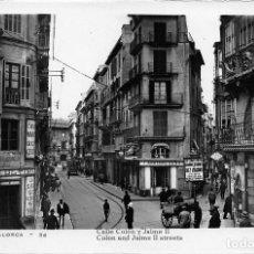 Postales: PALMA DE MALLORCA.- CALLE COLÓN Y JAIME II. Lote 72861587
