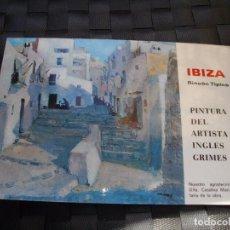 Postais: POSTAL DE IBIZA VISTAS LA DE LA FOTO VER TODOS MIS LOTES DE POSTALES . Lote 75029471