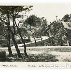 Postales: MALLORCA SAN SALVADOR FELANITX .ALREDEDORES DEL SANTUARIO Y EL PICOT. POSTAL FOTOGRÁFICA. Lote 75229523