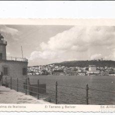 Postales: PALMA DE MALLORCA - EL TERRENO Y BELLVER - Nº 55 ED. ARRIBAS. Lote 75880027