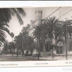 Postales: PALMA DE MALLORCA - LONJA DEL MAR - Nº 51 ED. ARRIBAS. Lote 75880259