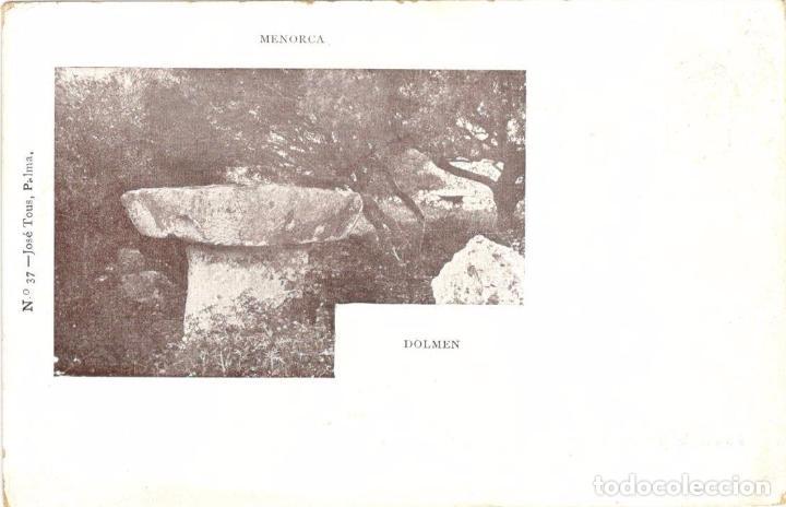 ANTIGUA POSTAL MENORCA - BAJADA AL PURGATORIO - SERIE JOSE TOUS PALMA Nº 62 (Postales - España - Baleares Antigua (hasta 1939))
