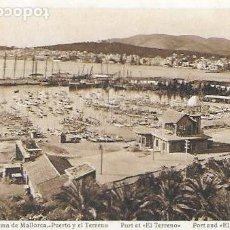Postales: P- 6464. POSTAL PALMA DE MALLORCA, PUERTO Y TERRENO. Nº2 L.ROISIN.. Lote 79130117
