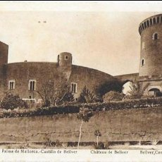 Postales: P- 6466. POSTAL MALLORCA, CASTILLO DE BELLVER. Nº 13 L. ROISIN.. Lote 79131805