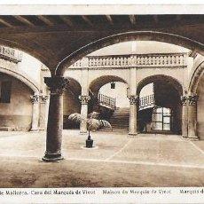 Postales: P- 6468. POSTAL PALMA DE MALLORCA, CASA DEL MARQUES DE VIVOT. Nº10 L.ROISIN.. Lote 79132153
