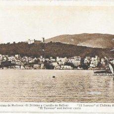 Postales: P- 6473. POSTAL PALMA DE MALLORCA, EL TERRENO Y EL CASTILLO DE BELLVER. Nº12 L.ROISIN.. Lote 79133985