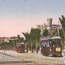 Postales: PALMA DE MALLORCA 84 PASEO SAGRERA CIRC. EN 1934. Lote 80343053