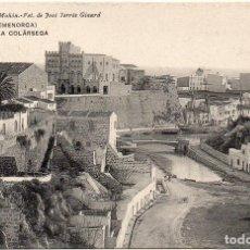 Postales: PS7536 CIUDADELA 'LA COLÁRSEGA'. JOSÉ TERRÉS GINARD. CIRCULADA. 1910. Lote 82303384