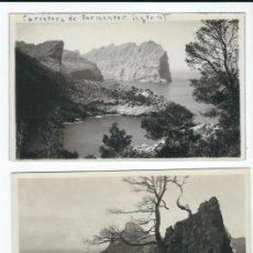 Postales: R200 - LOTE DE 15 FOTOS-POSTAL DE MALLORCA - PAISAJES AÑOS 1945 - 46 TODAS SIN CIRCULAR. Lote 82727888