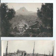 Postales: R200 - LOTE DE 10 FOTOS-POSTAL DE MALLORCA - PAISAJES AÑOS 1945 - 46 -7 SIN CIRCULAR. Lote 82735708