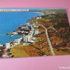 Postales: POSTAL-CALA BONA-CALA MILLOR-SON SERVERA-MALLORCA-1966-SIN CIRCULAR-VER FOTOS. Lote 85358816