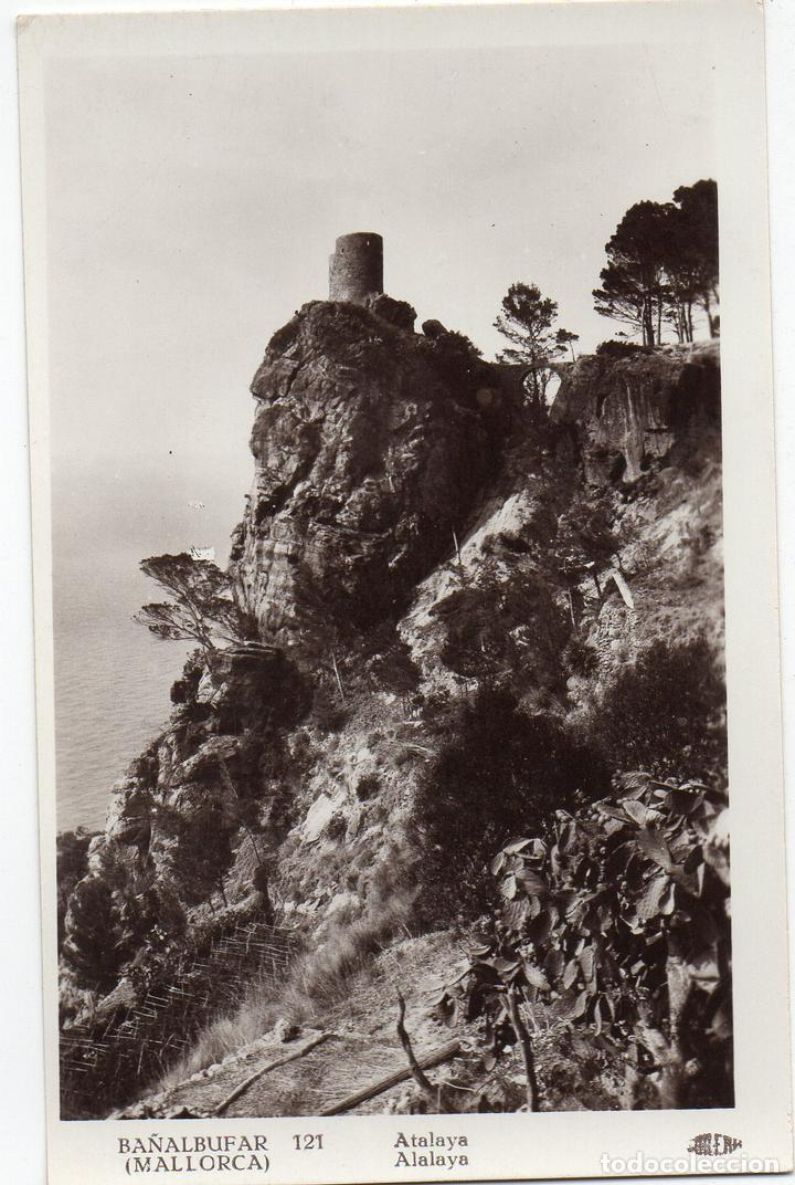 PS7660 BAÑALBUFAR 'ATALAYA'. FOTOGRÁFICA. GUILERA. AÑOS 30 (Postales - España - Baleares Antigua (hasta 1939))
