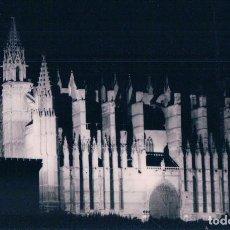 Postales: POSTAL PALMA DE MALLORCA - CATEDRAL ILUMINADA - TRUYOL. Lote 86703884