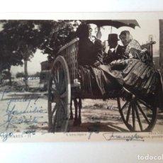 Postales: TARJETA POSTAL CIRCULADA 1948. CARRO TÍPICO DE IBIZA , VIÑETS. Lote 86708180