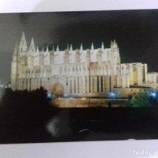 Postales: PALMA DE MALLORCA-LA CATEDRAL-VISTA AEREA-TARJETA POSTAL. Lote 86758580