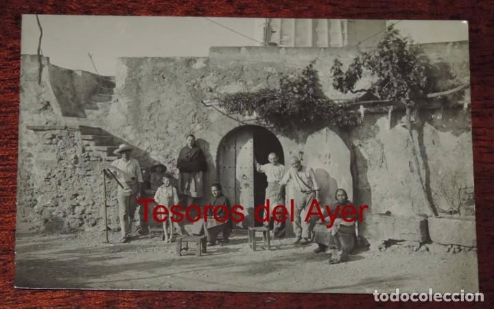 FOTO POSTAL DE MALLORCA. MOLINO DE VIENTO. NO CIRCULADA. REVERSO PONE J. ESCALAS, MALLORCA. (Postales - España - Baleares Antigua (hasta 1939))