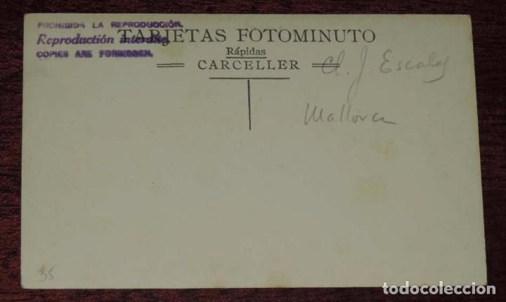 Postales: FOTO POSTAL DE MALLORCA. MOLINO DE VIENTO. NO CIRCULADA. REVERSO PONE J. ESCALAS, MALLORCA. - Foto 2 - 87205684