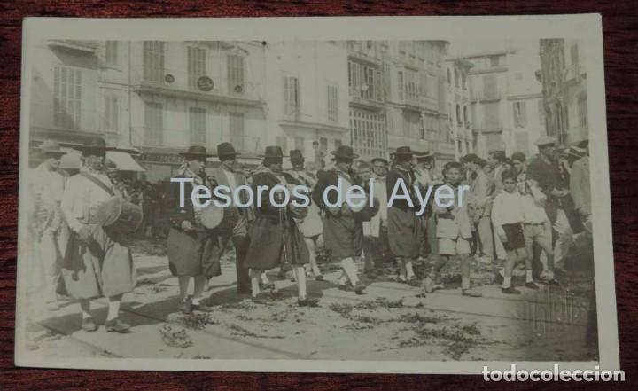 FOTO POSTAL DE MALLORCA, FOTO VILLA COLL, FIESTAS POPULARES, NO CIRCULADA. (Postales - España - Baleares Antigua (hasta 1939))
