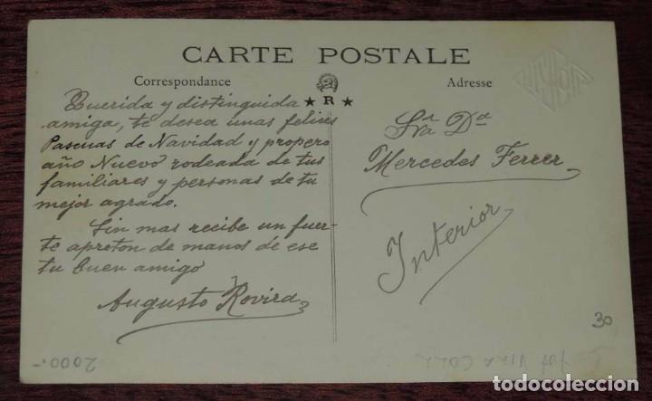 Postales: FOTO POSTAL DE MALLORCA, FOTO VILLA COLL, FIESTAS POPULARES, NO CIRCULADA. - Foto 2 - 87219864