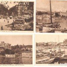 Postales: LOTE DE 4 POSTALES VARIADAS DE PALMA DE MALLORCA. Lote 87238372