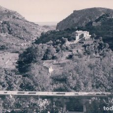 Postales: POSTAL MALLORCA - VALLDEMOSA - VISTA DESDE LA CELDA DE CHOPIN Y GEORGE SAND - FOTO PLASENCIA. Lote 88299600