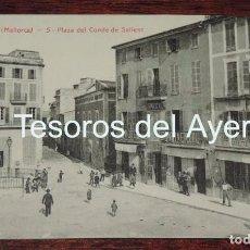 Postales: POSTAL DE MANACOR, MALLORCA, PLAZA DEL CONDE DE SALLENT, N.5, NO CIRCULADA, ED. ANGEL TOLDRA VIAZO. Lote 88755768