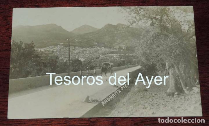 FOTO POSTAL DE ANDRAITX, MALLORCA, NO CIRCULADA, ESCRITA EN 1923. (Postales - España - Baleares Antigua (hasta 1939))