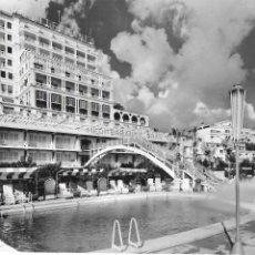 Postales: P- 7035. POSTAL MALLORCA PALMA, PISCINA DEL MEDITERRANEO GRAN HOTEL. CASA PLANAS Nº2083.. Lote 90258392