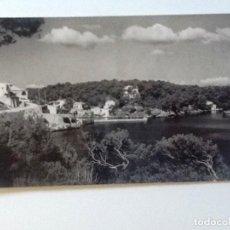 Postales: SANTANYI, 2 MALLORCA. CALA FIGUERA VISTA PARCIAL . FOTOGRAFIA CUYAS. CIRCULADA 1956. Lote 90977110