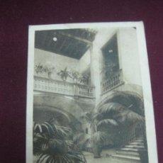 Postales: POSTAL MALLORCA. SERIE IV. - 5 PATIO BARROCO MALLORQUIN DEL SIGLO XVII.. Lote 92692830