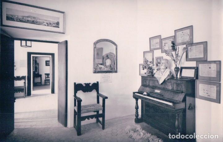 POSTAL MALLORCA. VALLDEMOSA. INTERIOR DE LA CELDA DE CHOPIN Y GEORGE SAND. EL PIANO. PLANAS 3311 (Postales - España - Baleares Antigua (hasta 1939))
