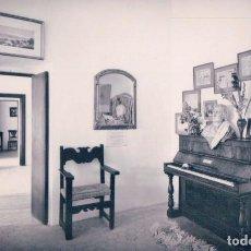 Postales: POSTAL MALLORCA. VALLDEMOSA. INTERIOR DE LA CELDA DE CHOPIN Y GEORGE SAND. EL PIANO. PLANAS 3311. Lote 93711510