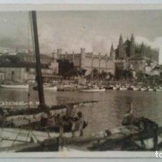 Postales: PALMA DE MALLORCA - LONJA Y CATEDRAL . Lote 94538335