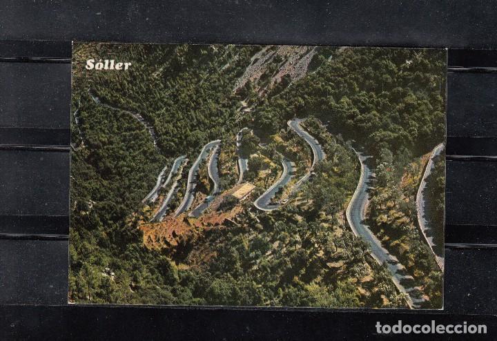 MALLORCA. SOLLER. CARRETERA DEL COLL. VISTA AÉREA (Postales - España - Baleares Moderna (desde 1.940))
