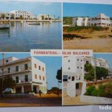 Postales: POSTAL FORMENTERA .- HOTEL BELLAVISTA VARIAS VISTAS . Lote 95931803