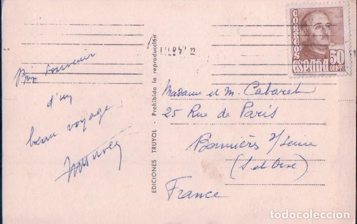 Postales: POSTAL PALMA DE MALLORCA - PASEO DE SAGRERA - TRUYOL - CIRCULADA - Foto 2 - 96595667
