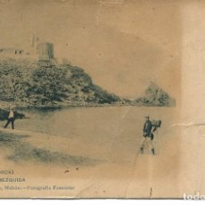 Postales: MAHÓN-CALA MEZQUIDA-FOTÓGRAFO- MUY RARA. Lote 96990495