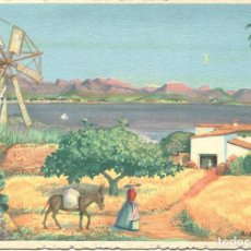 Postales: BAHIA DE POLLENSA CON FORMENTOR. Lote 96991191