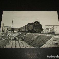 Postales: MANACOR MALLORCA LLEGADA DE UN TREN 1958 POSTAL. Lote 97068079